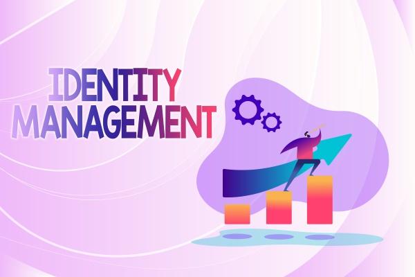 hand writing sign identity management internet