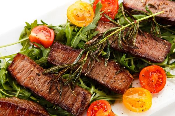 kebabs grilled meat and vegetables