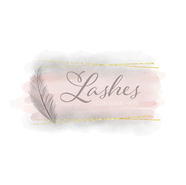 feminine, watercolour, logo, design, 2604 - 30595771