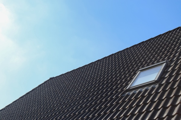 roof window in velux style with