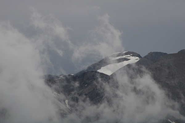 peak of mount wildhorn on a