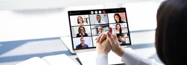 online digital hr video conference webinar
