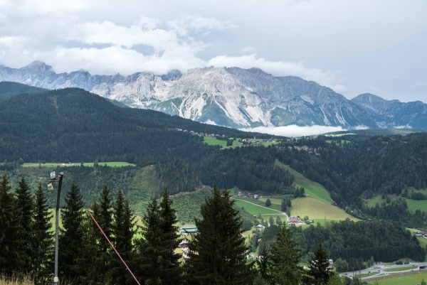 mountains for mountaineering and hiking