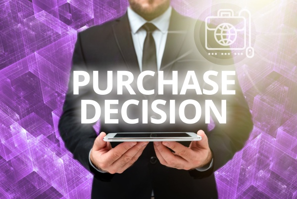 writing displaying text purchase decision conceptual