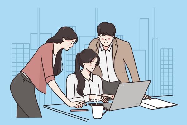 business meeting teamwork brainstorm concept