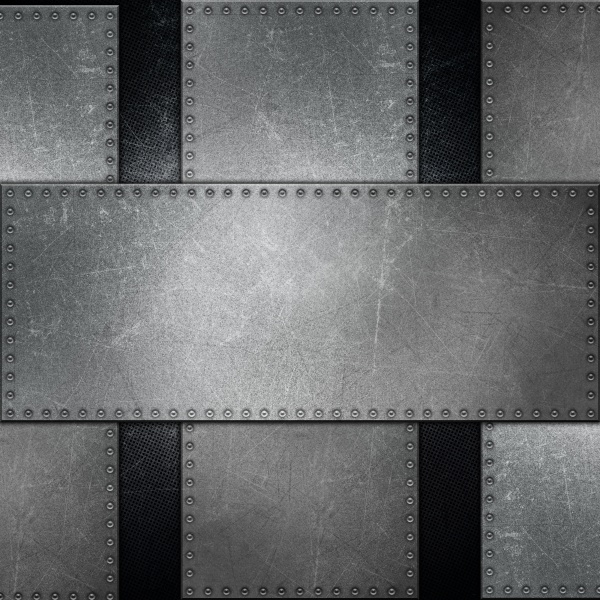 abstract metallic background with screws