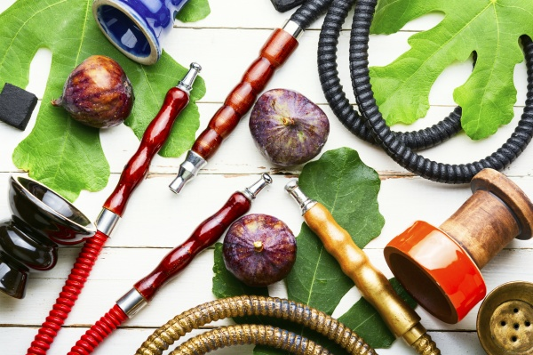 easy hookah with figs