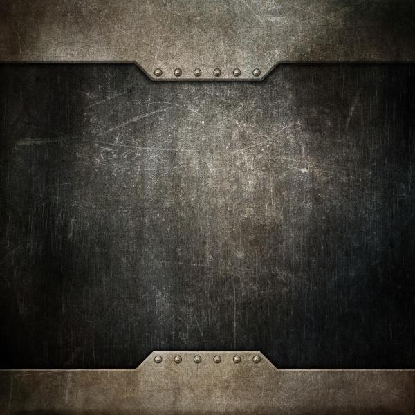 grunge texture background with metallic design