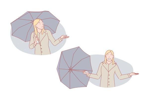 good weather or bad weather umbrella