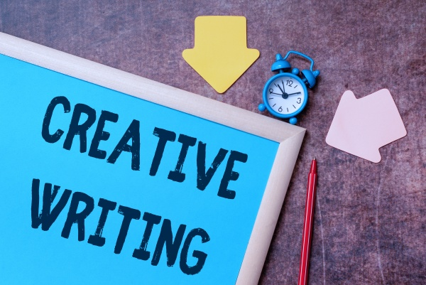inspiration showing sign creative writing