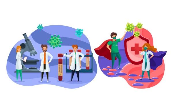 health care laboratory research vaccine coronavirus