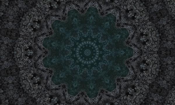 dark grey black stone wall with