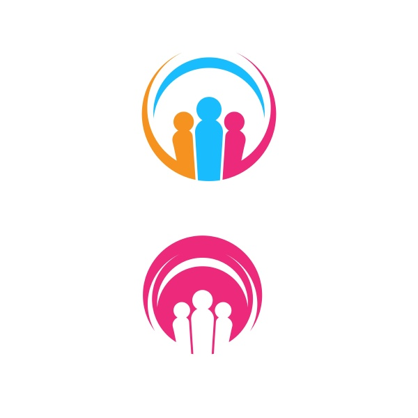 community network and social icon