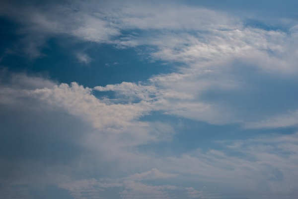 scattered, cloud, clusters, in, a, blue - 30672743