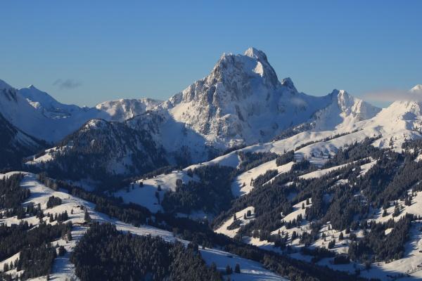 winter landscape seen from horeflue