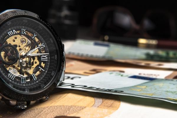 time is moneya beautiful mechanical watch