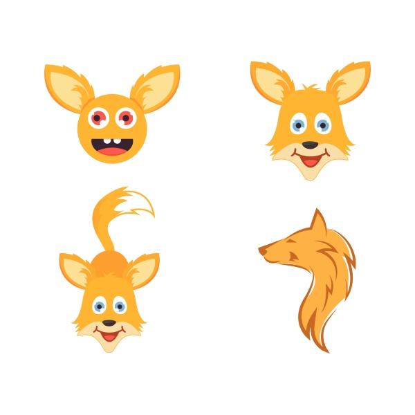fox icon vector illustration design