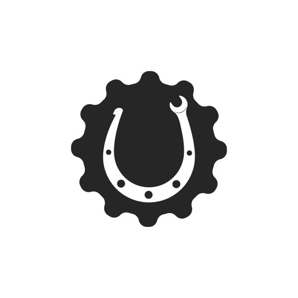 horse shoe service repair icon