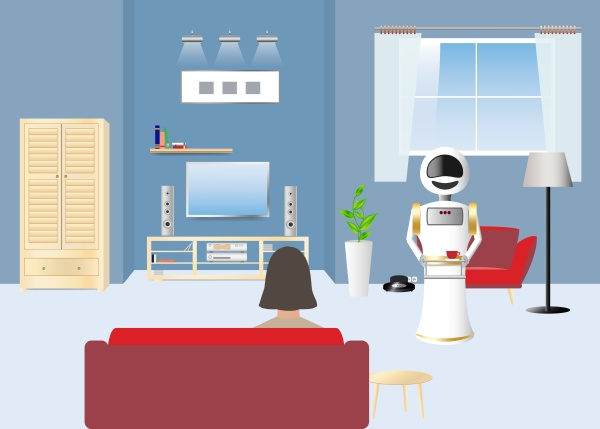 use of robots in the home