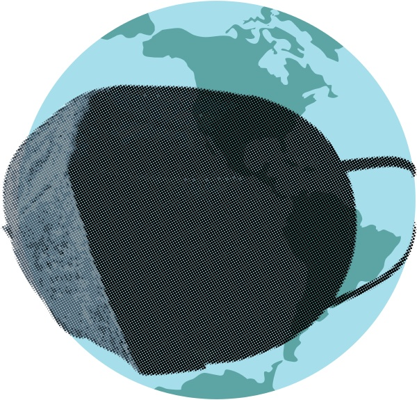 the world in a respirator