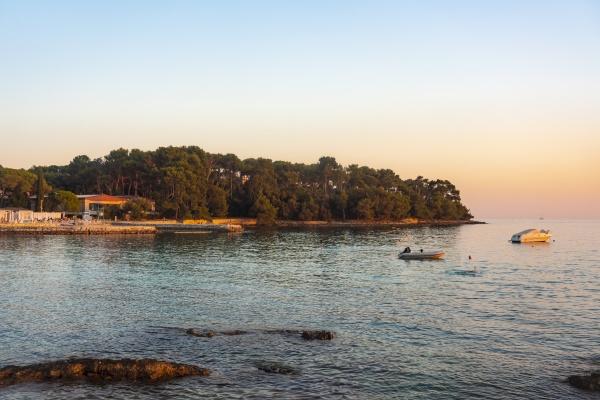 croatia istria rovinj sea and coast