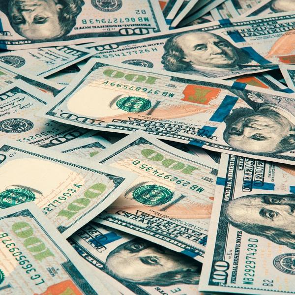 cash hundred dollar bills dollar background