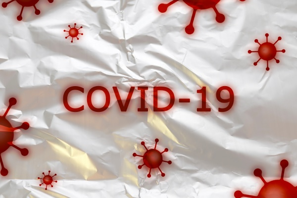 3d illustration of covid 19 and