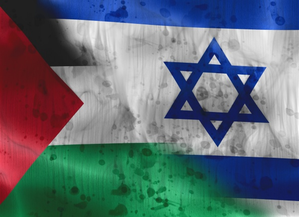 palestine confrontation with israel concept of
