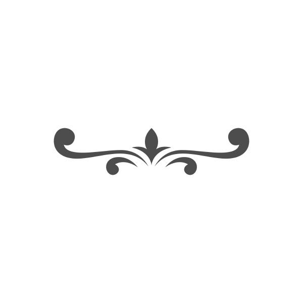 border ornament icon design template