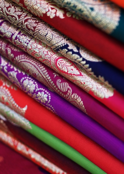 indian woman traditional wear saree or