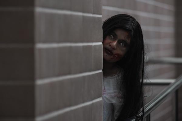 horror evil woman ghost creepy in