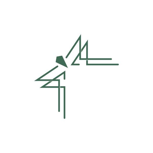 corner border ornament icon design template