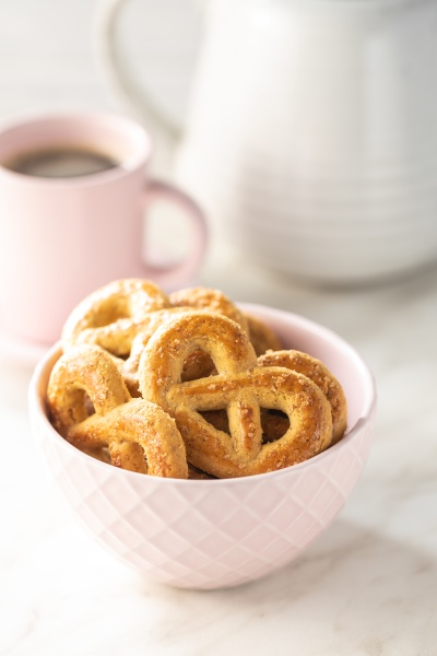 sweet cookies in the shape of