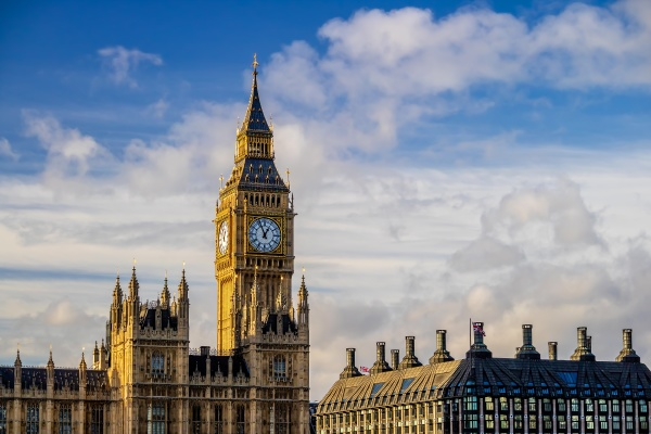 london city skyline with big ben