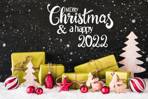 snowflakes gift tree ball merry christmas