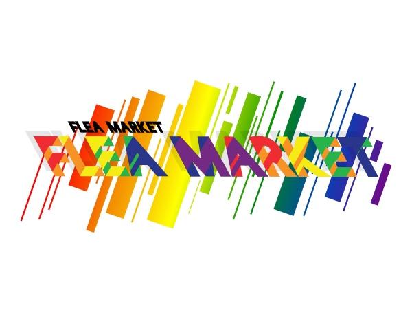flea market vector logo