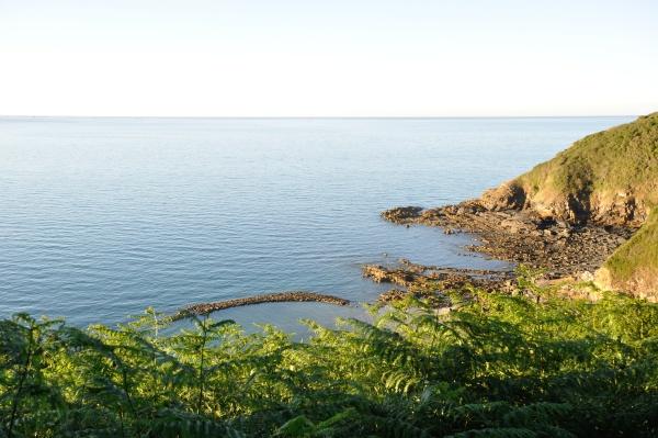 the brittany coast in pordic
