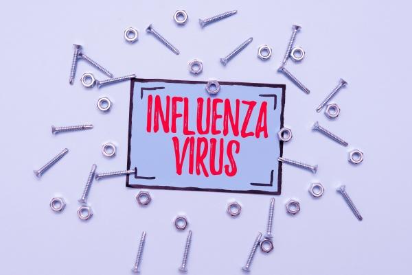 text showing inspiration influenza virus