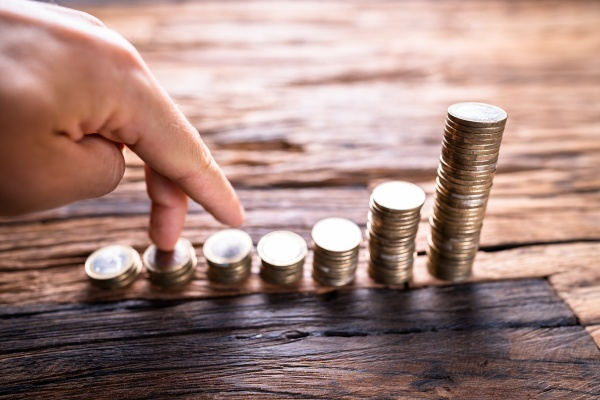 money investment and savings steps business