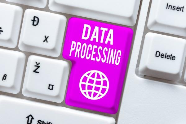 text caption presenting data processing internet