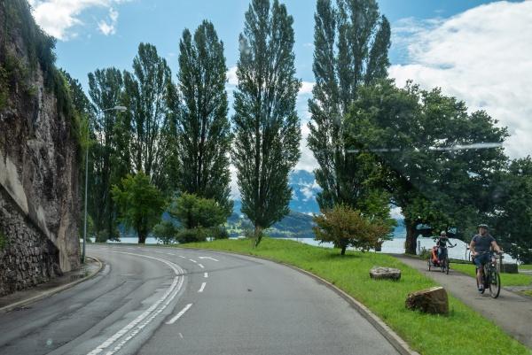lucerne lake switzerland august 5