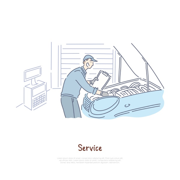car repair shop repairman service