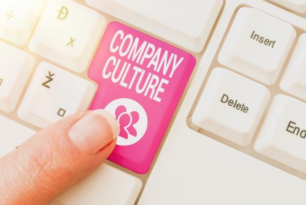 conceptual caption company culture conceptual