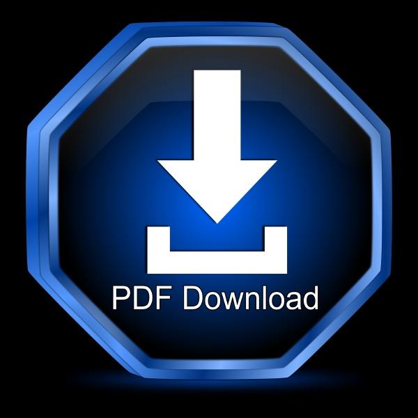 pdf download button blue on black
