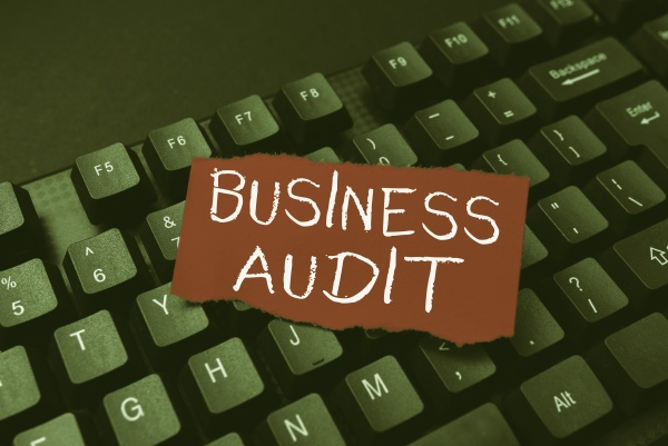 handwriting text business audit conceptual photo