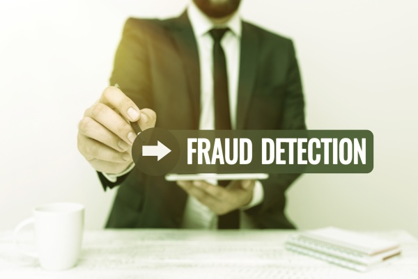 text showing inspiration fraud detection business