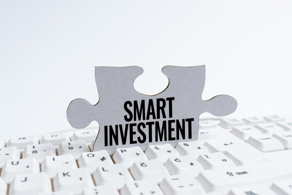 writing displaying text smart investment business
