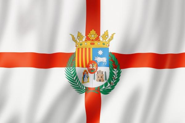 teruel province flag spain