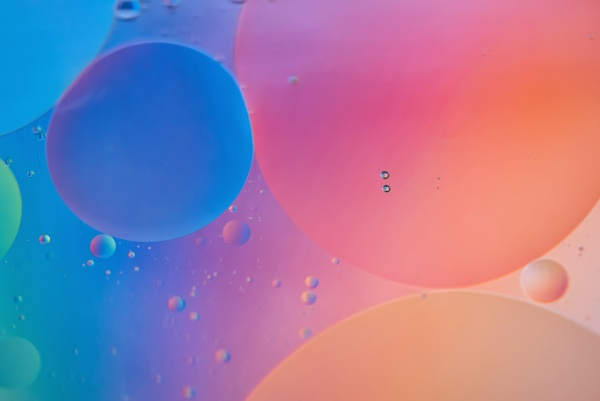 orange and blue abstract background picture