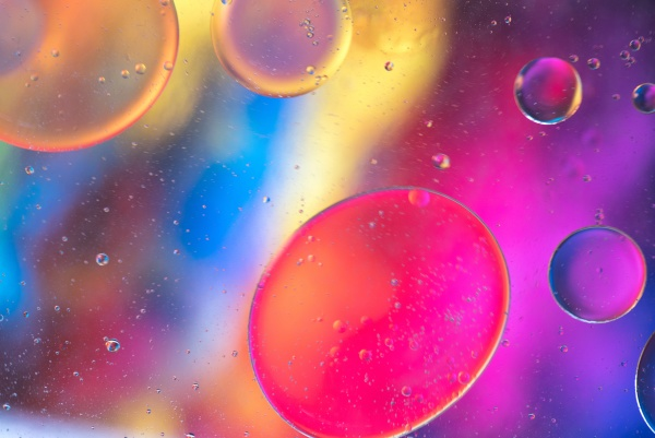 rainbow abstract background picture made with